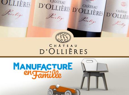Invitation autour du vin & des jouets Château d'Ollières Samedi 7 avril - 14h-19h