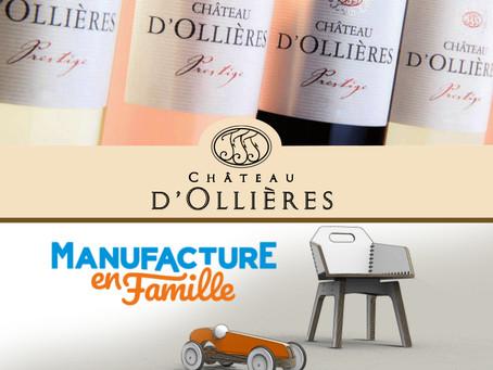 Invitation autour du vin & des jouets à la Manufacture en Famille Jeudi 12 avril 8h30-21h