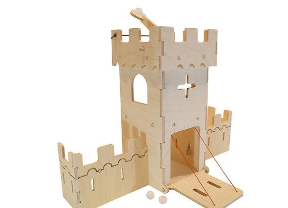 chateaufort catapulte bois design fabriquer DIY bricolage creative jouetbois manufactureenfamille madeinfrance