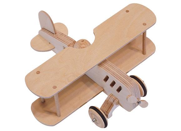 avion bois design retro DIY creative motricite jouetbois manufactureenfamille madeinfrance