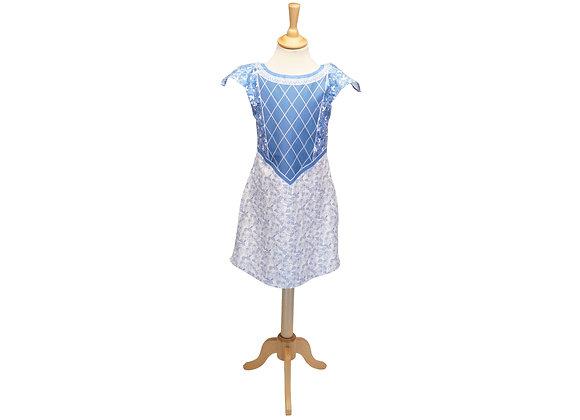robe princesse Moyenage déguisement fabriquer motricite magique couture manufactureenfamille madeinfrance