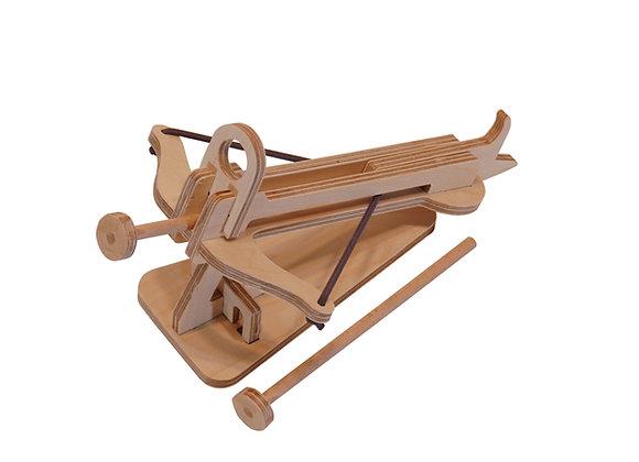 La baliste de Plywood, à fabriquer ensemble