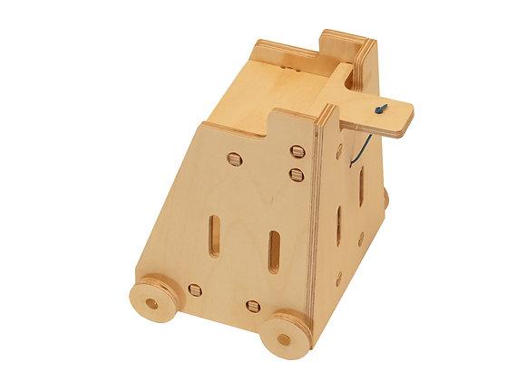 Tour pont basculant bois design fabriquer DIY bricolage creative jouetbois manufactureenfamille madeinfrance