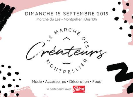 Manufacture en famille au Marché du Lez | Septembre 2019!