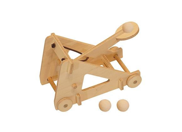 catapulte bois design fabriquer DIY bricolage creative jouetbois manufactureenfamille madeinfrance