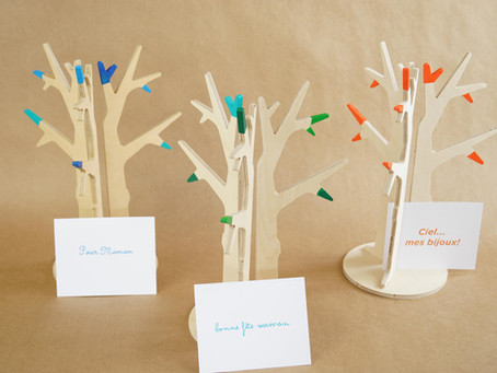 """Belle idée pour la Fête des mères, construisez un """"arbre à trésors"""", 3 belles façons de le décorer!"""