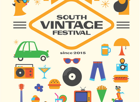 Manufacture en famille participe au South Vintage Festival 2018!