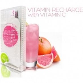 Voesh Mani In A Box Waterless 3 Step Pink Grapefruit, Vitamin Recharge