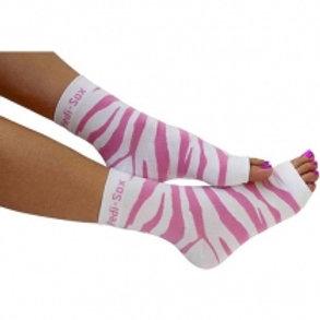 Pink Zebra Ped-Sox