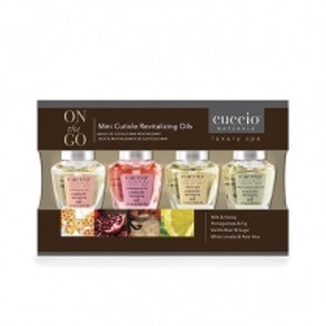 Cuccio Mini Cuticle Revitalizing Oils 4-Pack