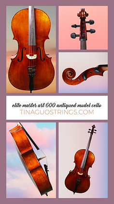 Tina Guo 600-Premium Model Cello Package