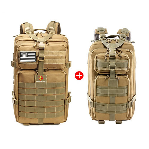 45L Tactical Backpack Bundle With 30L EDC Pack