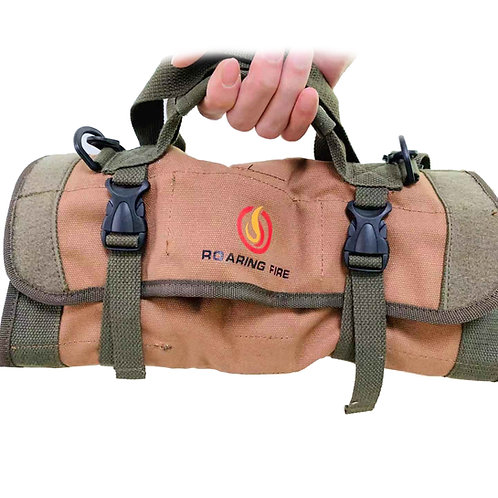 Roaring Fire Armadillo Tool Roll Pouch