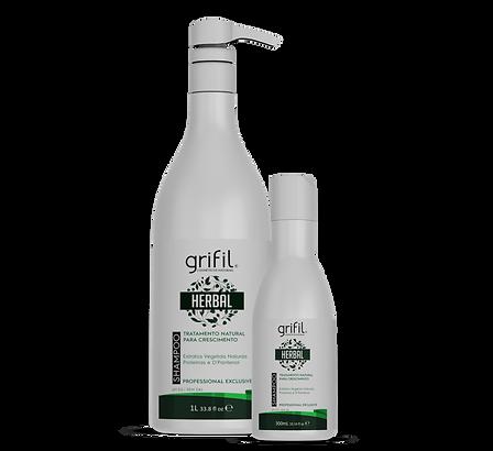 Shampoo Herbal crescimento capilar grifi