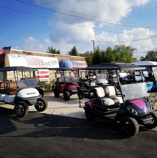 Custom Golf Carts