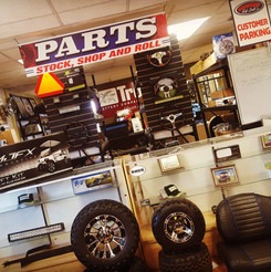 Full Parts and Accessories Department