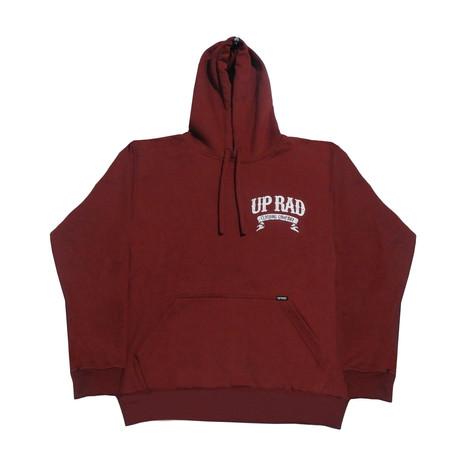 Buzo con capucha H - Rojo