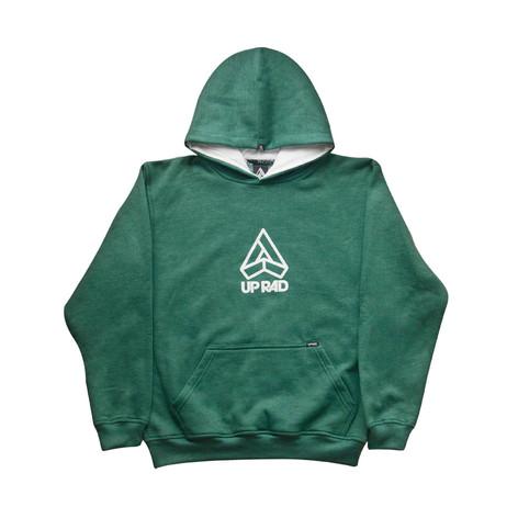 Buzo con capucha H - Verde