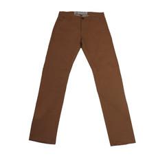 Pantalon chino gabardina H - Marrón