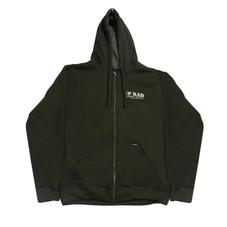 Campera con capucha H - Verde oscuro