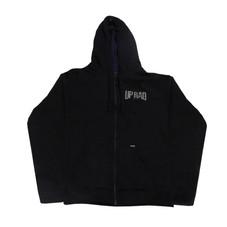 Buzo con capucha H - Negro