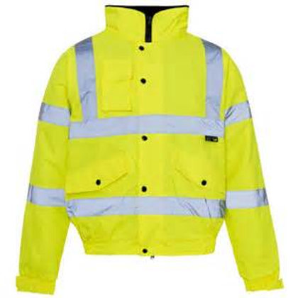 High Vis bomber jacket
