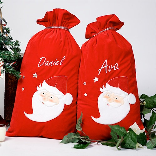 Velure Santa Sack