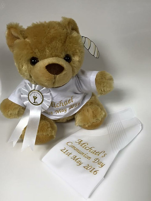 Communion bear and Napkin