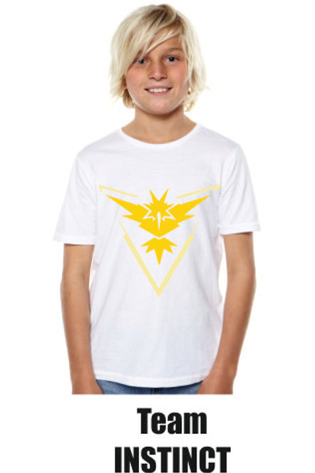 Pokemon Go Team Instinct Tshirt