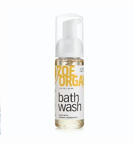 Zoe Organics Bath Wash Travel Size