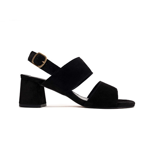 ANONYMOUS COPENHAGEN BELINDA SUEDE BLACK