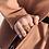 Thumbnail: MIMI E TOI CREISSANT RING GOLD