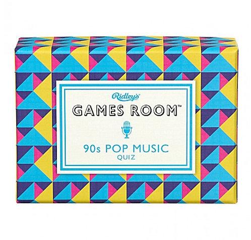 RIDLEY'S 90s POP MUSIC QUIZ