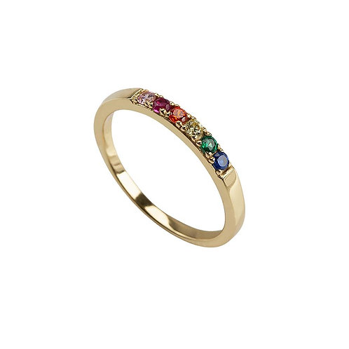 OHH LUILU RAINBOW RING