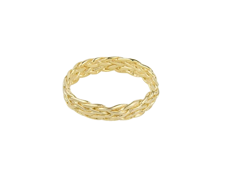 WILDTHINGS FIVE STRAND BRAIDED RING
