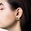 Thumbnail: JANE KOENIG SMALL CHUNKY HOOP