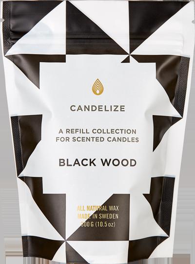 CANDELIZE BLACK WOOD
