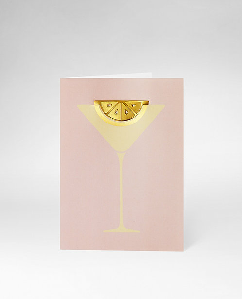 OCTAEVO GREETING CARD COCKTAIL
