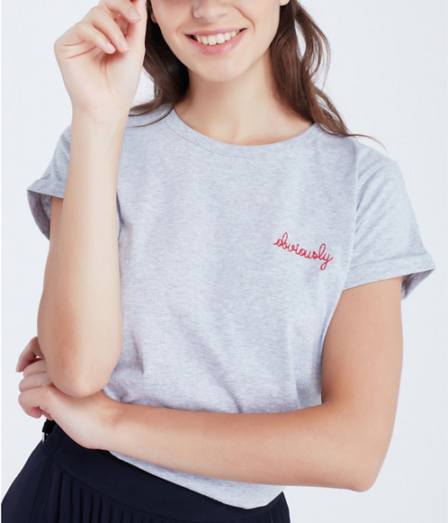 MAISON LABICHE CLASSIC TEE SHIRT OBVIOUSLY