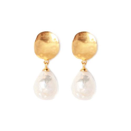 MIMI E TOI JOLIE EARRINGS GOLD
