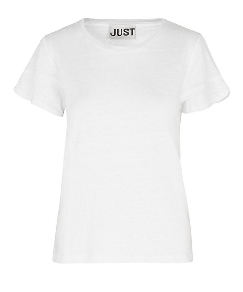 JUST FEMALE SUZI LINEN TEE