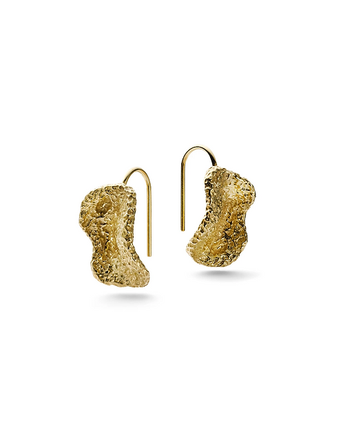 JUKSEREI VELVET HOOK EARRING SHORT