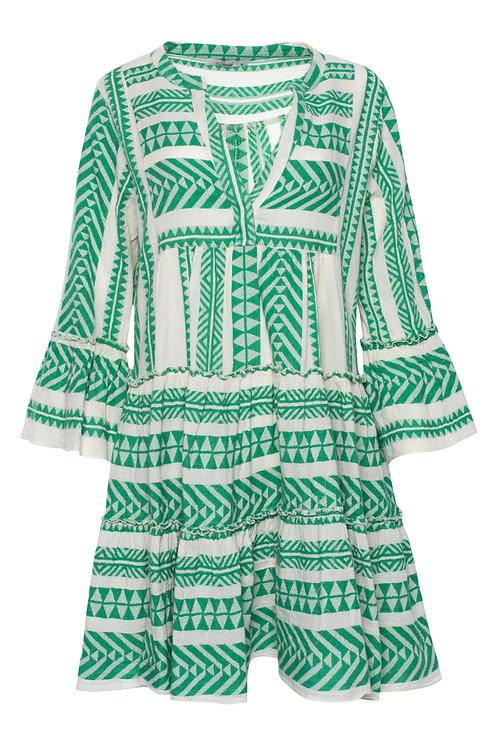 DEVOTION ELLA SHIRT DRESS GREEN