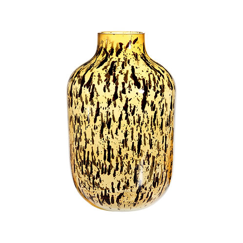 &K VASE LEOPARD SPECKLE SMALL
