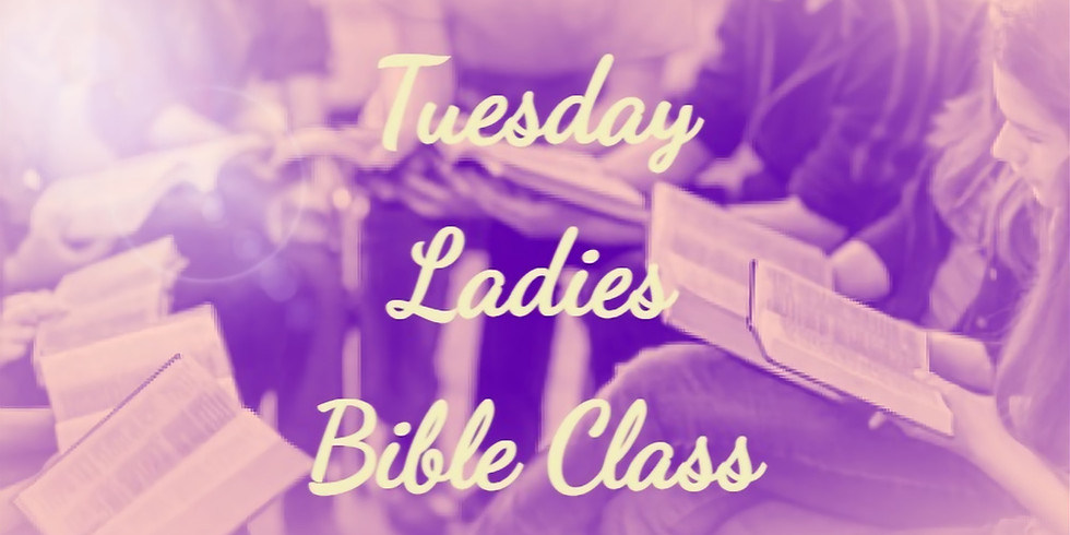 Tuesday Ladies Bible Class  (1)
