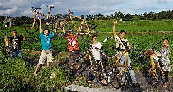 bamboo bike bambu permacultura permacult