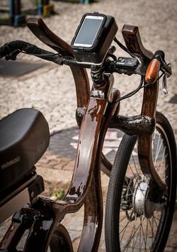 painel de controle bicicleta bike woodbi
