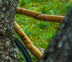 hand made bamboo bike, bicicleta personalizada de bambu