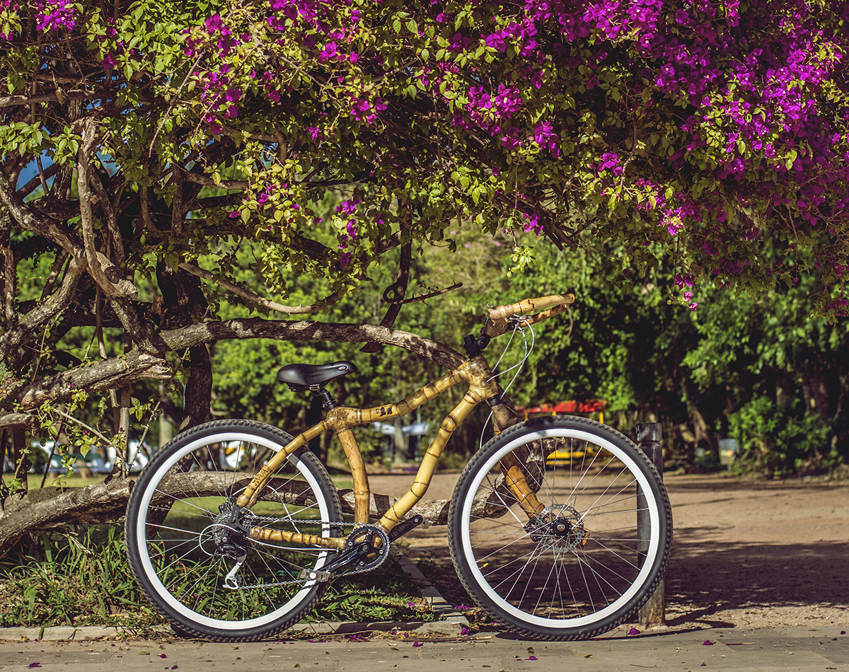 Bamboo bike, hand made with bamboo, Bambu bike da ArtBikeBamboo personalizada