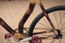 bicicleta fixa de bambu, personalizada, Fixed gear bamboo bike, hand made by ArtBikeBamboo